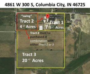 Featured image of property at 4861 W 300 S Columbia City, IN 46725